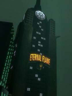 Eternal Flame building