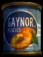 Gaynor Peaches tin
