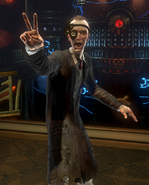 BioShock 2-Reed Wahl encountered in The Thinker - V sign f0369
