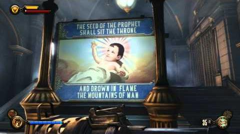 "Bioshock Infinite HD ""Shiny Happy People"" In-Game Soundtrack"