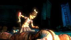 Bioshock2 17-Litlle Sis Survivor Corpse