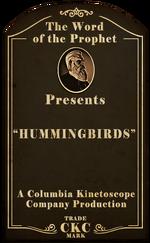 Kinetoscope Hummingbirds