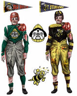 Pigskin uniforms