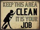 Columbia Keep This Area Clean Propaganda