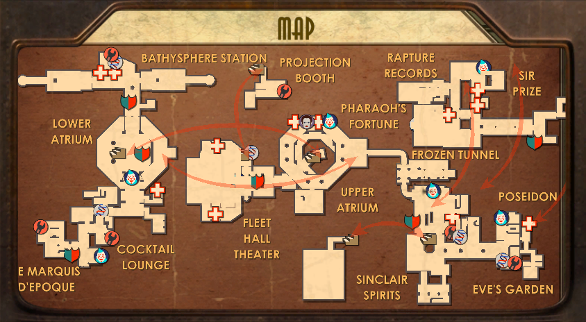 Fort Frolic Map