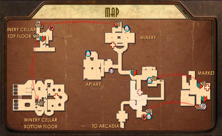 Farmer's Market Map