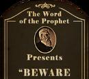 Beware the False Shepherd