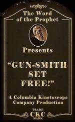 Kinetoscope Gun-Smith Set Free