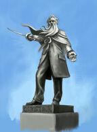 Zachary Hale Comstock Statue Concept