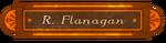 Rock Flanagan Office Sign