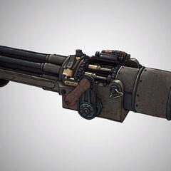 Cañón de manivela, la arma usada por los Patriotas