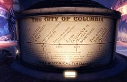 Cityofcolumbiahistoricaltimeline