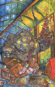 Bioshock Christmas by TeamLando