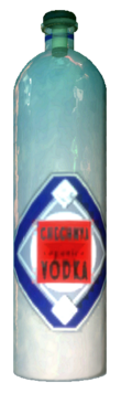 Chechnya Vodka bottle