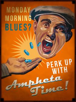 Ampheta Time Poster