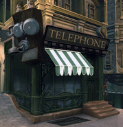 Early Art Nouveau Columbia Telephone Concept