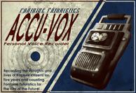 Accu-Vox Poster