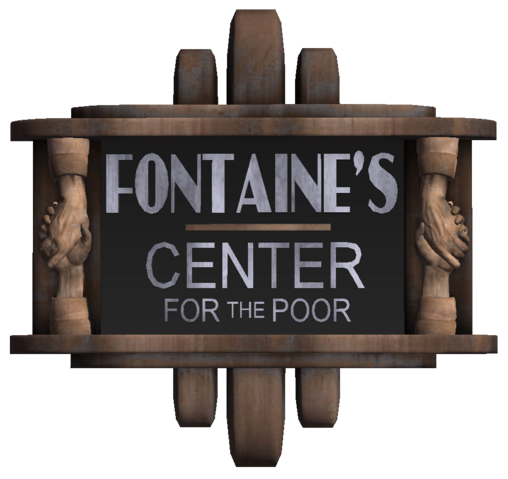 File:Fontaine's Center for the Poor Sign.png