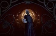 BioShock Infinite - Town Center - Welcome Center - Preacher Witting-hand reach f0812
