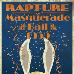 Publicidad del baile de máscaras 1959.