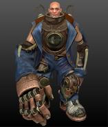 Bioshock infinite handyman by mrgameboy2013-d64lpw3