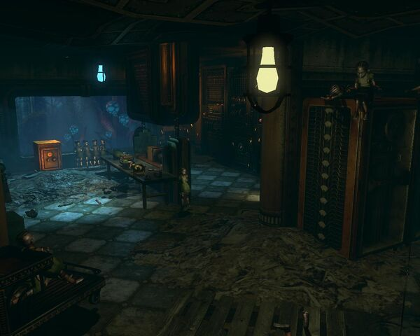 File:BioShock 2-Minerva's Den - McClendon Robotics Workshops Robotic Little Sisters f0365.jpg.jpg