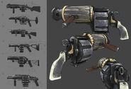 Bi Volley Gun