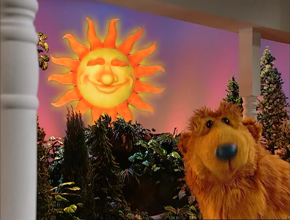 Morning glory bear in the big blue house wikia fandom for 7 a la maison episodes