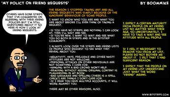 Boommike friend policy