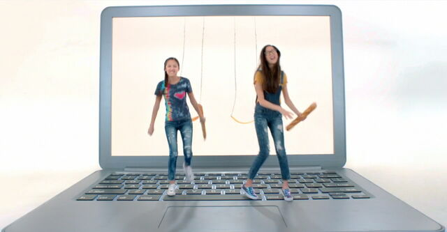 File:Paige & Frankie; From Swings to Laptop.jpg