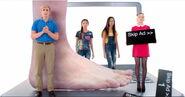 Dirk; Do you have constant foot odor