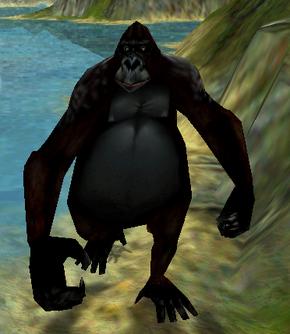 Neutral gorilla