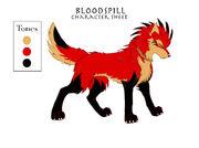 Character Sheet13 Bloodspill by KayFedewa