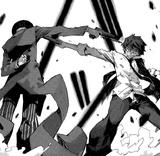 Rentaro and Kagetane's encounter
