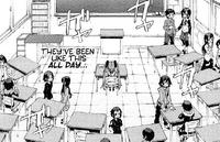 Enju is neglected by her peers