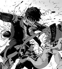 Rentaro protects Enju
