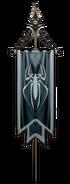 Spider pole banner