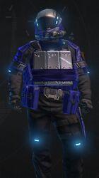 Hardsuit Pilot Blue Armor