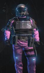 Metallic Pink Armor