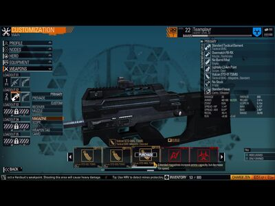 Vulcan STD-04XL TSMG