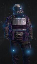 Hardsuit Pilot Purple Armor