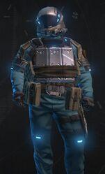 Baby Blue Armor