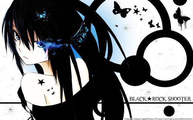File:Konachan.com - 65545 black hair black rock shooter blue eyes kuroi mato surolen tattoo.jpg