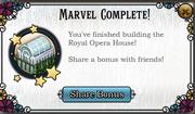 Marvel complete opera house