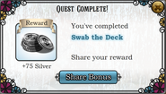 Quest Swab the Deck-Rewards