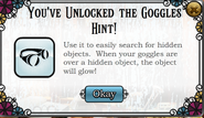 Unlocked goggles