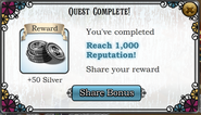 QuestReach 1000 reputation-Rewards