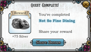 Quest Not So Fine Dining-Rewards