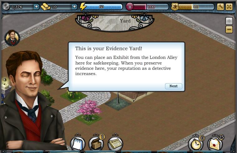 Evidence yard