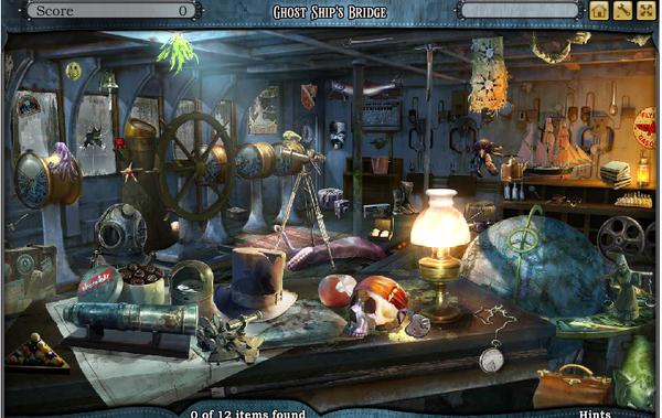 Scene Ghost Ship's Bridge-Screenshot